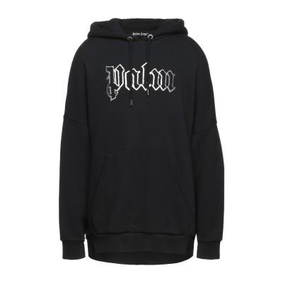 パーム・エンジェルス PALM ANGELS スウェットシャツ ブラック XXL コットン 100% / ポリウレタン スウェットシャツ
