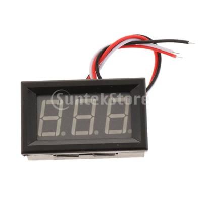 デジタルdcの電圧計.0.56inの緑の導かれた表示.電気自動車のためのdc 100v
