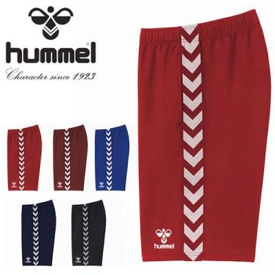 ヒュンメル hummel メンズ チームハーフパンツ ジャージ 短パン スポーツウェア 2021春夏新作 HAT6098