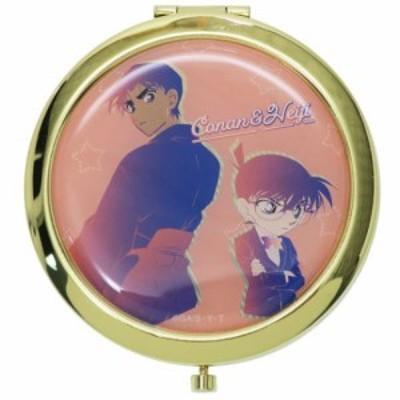 名探偵コナン 手鏡 W コンパクトミラー コナン & 平次 ルミエシリーズ アニメキャラクター グッズ メール便可