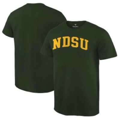 Fanatics Branded ファナティクス ブランド スポーツ用品  Fanatics Branded NDSU Bison Green Basic Arch T-Shirt
