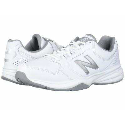 ニューバランス スニーカー シューズ メンズ 411 White/Silver Mink