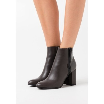エスプリ ブーツ&レインブーツ レディース シューズ VERONA  - High heeled ankle boots - dark grey