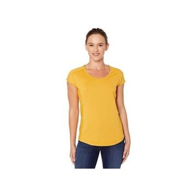 マーモット Kitsilano Short Sleeve Shirt レディース シャツ トップス Yellow Gold