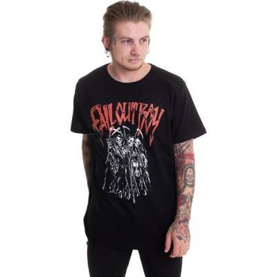 インペリコン Impericon メンズ Tシャツ トップス - Grim Reaper Red Logo - T-Shirt black