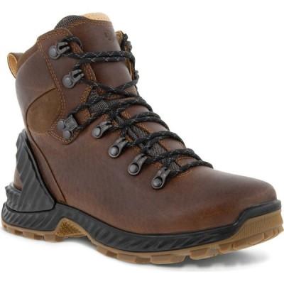 エコー ECCO レディース ハイキング・登山 ブーツ シューズ・靴 Exohike Retro Water Repellent Hiker Boot Cocoa Brown Leather