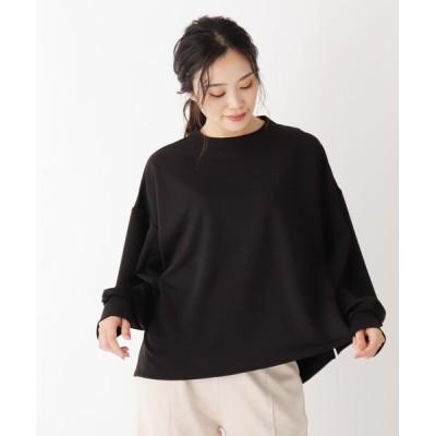 SOUP / 【大きいサイズあり・13号】タックスリーブバックジッププルオーバー WOMEN トップス > Tシャツ/カットソー