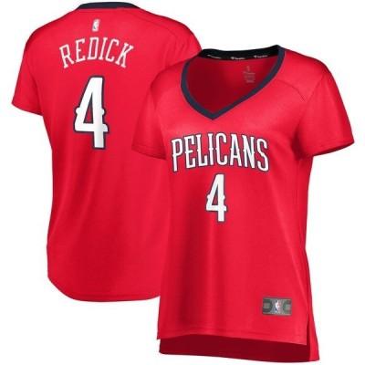 ファナティクス ブランデッド レディース Tシャツ トップス JJ Redick New Orleans Pelicans Fanatics Branded Women's Fast Break Player Jersey