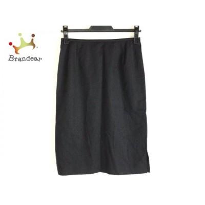 ニジュウサンク 23区 スカート サイズ36 S レディース ダークグレー     スペシャル特価 20200620
