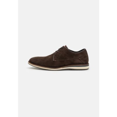 ブルボクサー メンズ 靴 シューズ Casual lace-ups - brown
