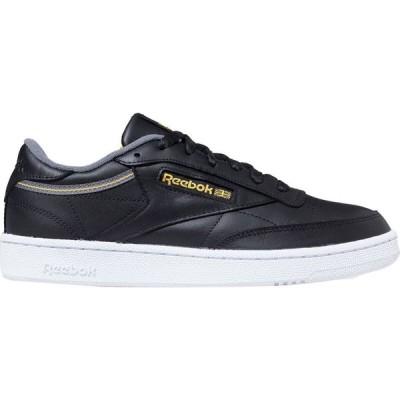 リーボック Reebok メンズ スニーカー シューズ・靴 Club C 85 Sneaker Black/Cold Grey/Fierce Gold