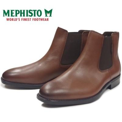 メフィスト コルビー MEPHISTO COLBY 17835 HAZELNUT サイドゴアブーツ ビジネスシューズ メンズ 本革 プレーントゥ チェルシーブーツ ポルトガル製