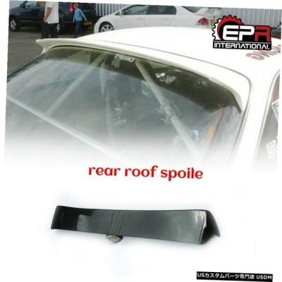 エアロパーツ 日産S14シルビアDmのスタイルカーボンファイバーリアルーフスポイラーウィンドウウイングリップのために For Nissan S14 Silvia Dm Styl