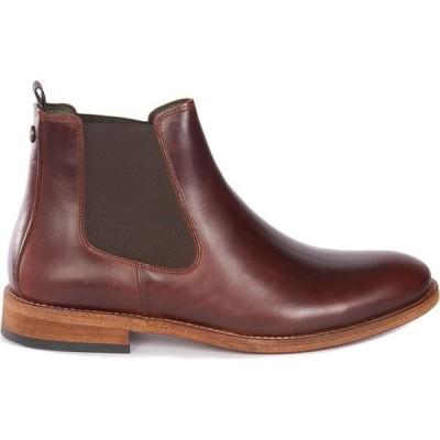 バブアー Barbour メンズ ブーツ チェルシーブーツ シューズ・靴 Bedlington Chelsea Boot Mahogany BR