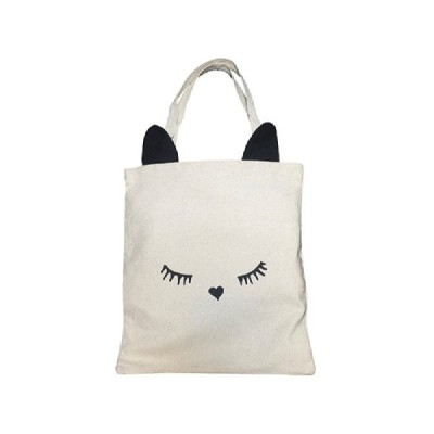 bag-all/バッグオール ネコ耳トートブラック  Cat Black Ear Tote