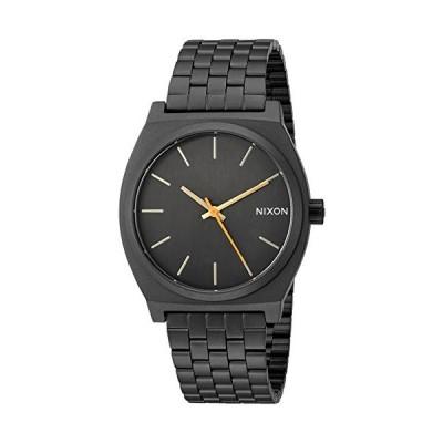 Nixon ユニセックス The Time Teller X スポーツラックスコレクション One Size All Black/Surplus