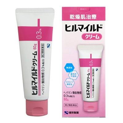 【第2類医薬品】 健栄製薬 ヒルマイルド クリーム 60g