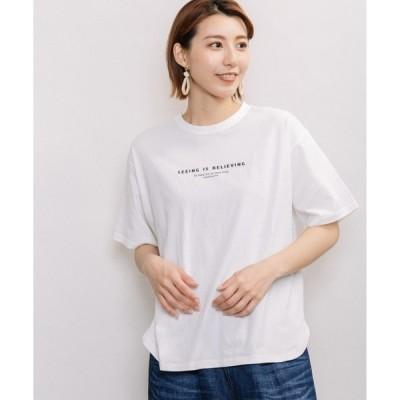 tシャツ Tシャツ ロゴプリントTシャツ