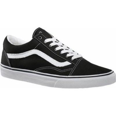 バンズ メンズ スニーカー シューズ Vans Old Skool Sneaker Black/True White (Canvas)