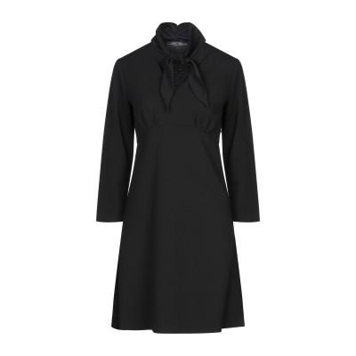 SANDRO FERRONE ミニワンピース&ドレス ブラック 40 ポリエステル 97% / ポリウレタン 3% ミニワンピース&ドレス
