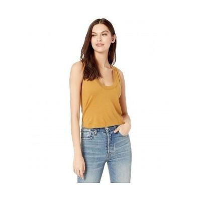 7 For All Mankind セブンフォーオールマンカインド レディース 女性用 ファッション トップス シャツ Vintage Crop Tank - Amber