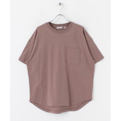(ITEMS URBANRESEARCH/アイテムズ アーバンリサーチレディース)ポケットTシャツ(UVカット)/レディース MOC