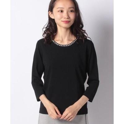 MADAM JOCONDE / マダムジョコンダ ANA ビーズ刺繍 ニットプルオーバー