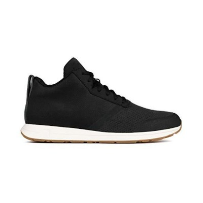 York Athletics The Henry Mid Lightweight Training Sneaker, Unisex Training Shoe, (9 Women/7.5 Men, Black/Gum)【並行輸入品】