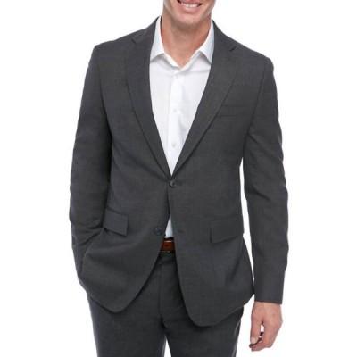 トッドスナイダー メンズ ジャケット・ブルゾン アウター Men's Med Gray Sharkskin Suit Separate Coat