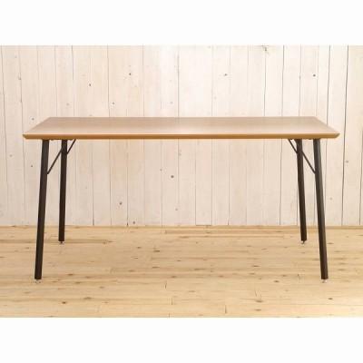 カフェダイニングテーブルMDF木目天板幅150cm長方形 mont1500-dinningtable
