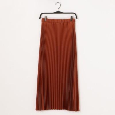 【URVIN】 プリーツロングスカート