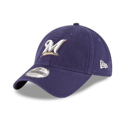 ニューエラ メンズ 帽子 アクセサリー Milwaukee Brewers On Field Replica 9TWENTY Fitted Cap
