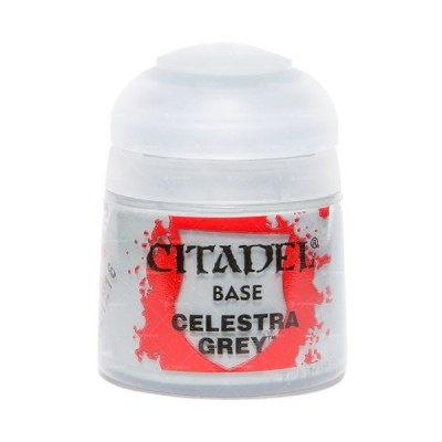 ベースコート セレストラ・グレイ Celestra Grey 21-26 新品シタデルカラー   フィギュア塗料 ゲームズワークショップ