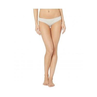 OnGossamer オンゴッサマー レディース 女性用 ファッション 下着 ショーツ Cabana Cotton Hip Bikini 1402 - Heather Grey