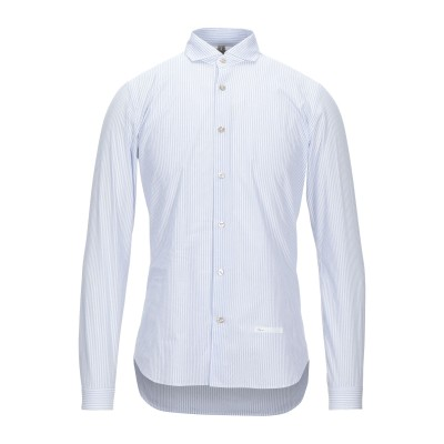 DNL シャツ ブルー 38 コットン 100% シャツ
