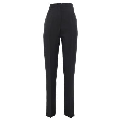 ヌメロ ヴェントゥーノ N°21 パンツ ブラック 40 モヘヤ 60% / バージンウール 40% / ポリエステル パンツ