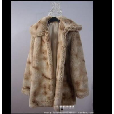 体型カバー♪女性 ショートコート おしゃれ アウター 暖かい 冬物 防寒 毛皮コート 上質 コート 上着 ジャケット ファッション  レディース フェイクファー