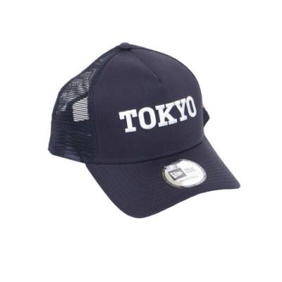 ニューエラ(NEW ERA)9FORTY A-Frame トラッカー TOKYO ロゴキャップ 12533254