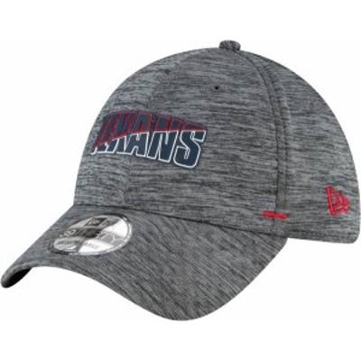 ニューエラ メンズ 帽子 アクセサリー New Era Men's Houston Texans Grey Summer Sideline 39Thirty Stretch Fit Hat
