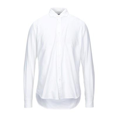 PORTOFIORI シャツ ホワイト 40 コットン 100% シャツ