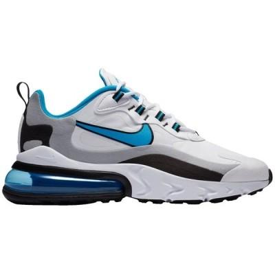 ナイキ スニーカー シューズ メンズ Nike Men's Air Max 270 React Shoes LaserBlue/Black/White