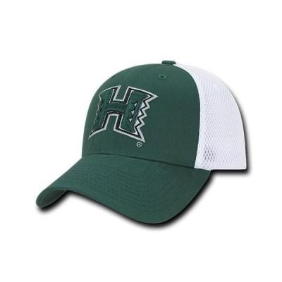 ユニセックス スポーツリーグ アメリカ大学スポーツ NCAA Hawaii University Rainbow Warriors Structured Mesh Flex Baseball Caps Ha