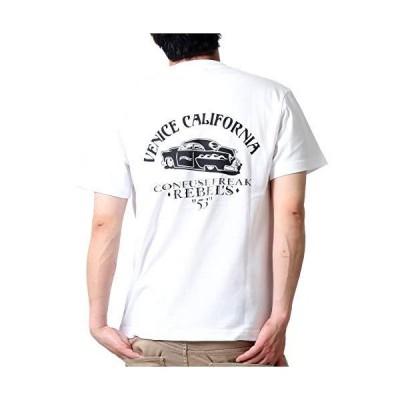 (コンフューズ)CONFUSE tシャツ メンズ 大きいサイズ ティシャツ 半袖Tシャツ ローライダー カー アメカジ 柄 ブランド ロゴ プリント