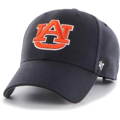 フォーティーセブン メンズ 帽子 アクセサリー '47 Men's Auburn Tigers Blue MVP Adjustable Hat