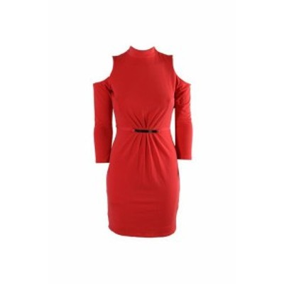 Jessica Simpson ジェシカシンプソン ファッション ドレス Jessica Simpson Corallo Cold-Shoulder Hardware Vestito con Fodero