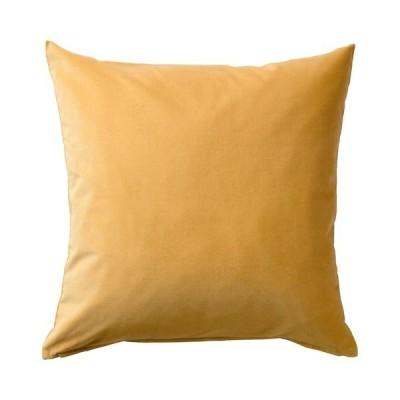 【IKEA】SANELA/サネーラ クッションカバー ゴールデンブラウン50x50 cm