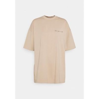 ヌー イン Tシャツ レディース トップス JANA'S DIARY X NU-IN - Print T-shirt - beige