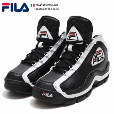 フィラ FILA スニーカー 靴 シューズ 【FHE101-001】 96GL NBA 名作 Grant Hill グラントヒル 復刻 2PAC 着用モデル ハイカット 黒 本革