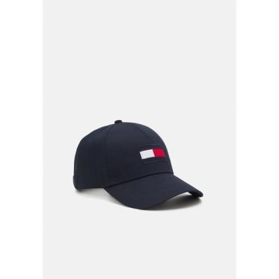 トミー ヒルフィガー 帽子 メンズ アクセサリー BIG FLAG UNISEX - Cap - blue