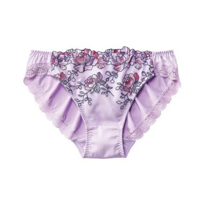 刺しゅうレースショーツ(シェルフラワー)(フリーサイズ) スタンダードショーツ, Panties